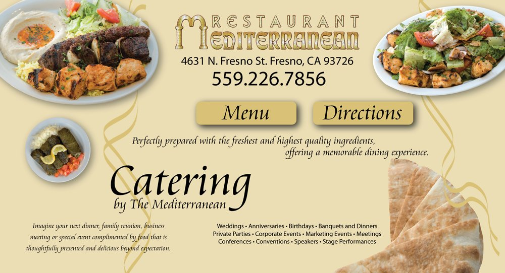 Mediterranean Restaurant in Fresno, Authentic Lebanese Cuisine